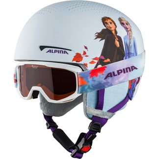 Alpina - Zupo Disney Set Helmet + Goggle Kids frozen II