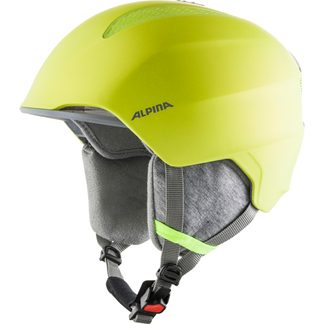 Alpina - Grand JR Helmet Kids neon yellow