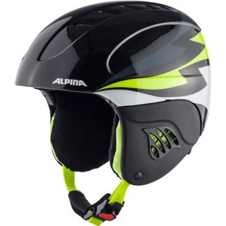 Alpina - Carat Kids charcoal neon yellow