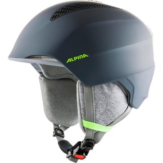 Alpina - Grand JR Helmet Kids charcoal neon yellow