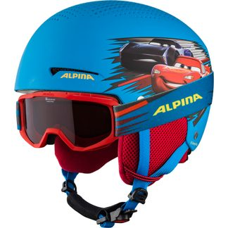 Alpina - Zupo Disney Set Helmet + Goggle Kids cars