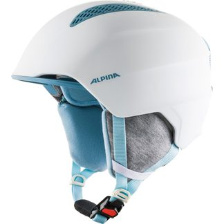 Alpina - Grand JR Helmet Kids white skyblue
