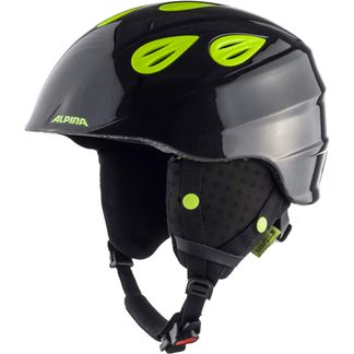 Alpina - Grap 2.0 JR Kids charcoal neon yellow