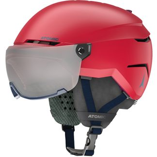 Atomic - Savor Visor JR Helmet Kids red