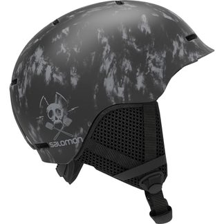 Salomon - Grom Helmet Kids black tie&dye