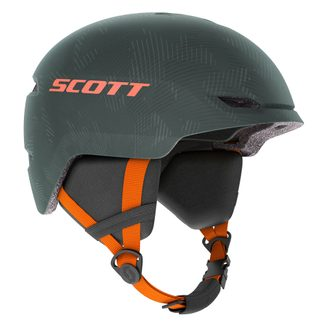 Scott - Keeper 2 Helmet Kids sombre green pumpkin orange