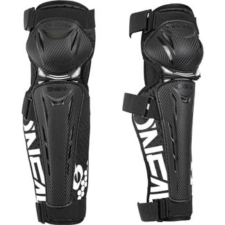 O'Neal - Trail FR Carbon Look Knee Guard Unisex black white