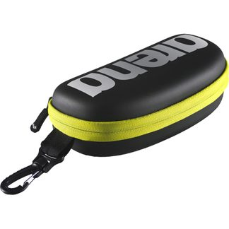 Arena - Goggle Case black silver fluo yelow