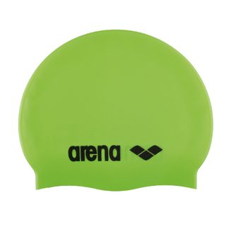 Arena - Classic Silicon Bathing Cap Kids acid lime black
