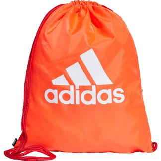 adidas - Gym Sack solar red scarlet white