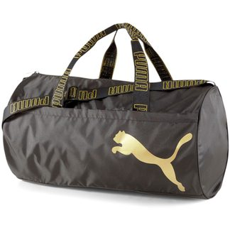Puma - AT ESS Barrel Bag puma black metallic gold