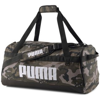 Puma - Challenger Duffel Bag M forest night camo aop