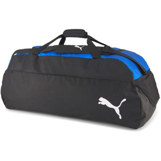 Puma - teamFINAL 21 Teambag L electric blue lemonade puma black