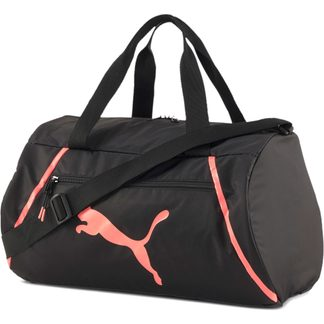 Puma - AT ESS Barrel Bag puma black nrgy peach
