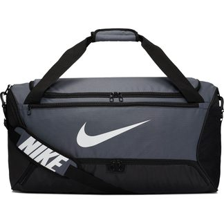 Nike - Brasilia Training Duffle Bag Medium 9.0 flint grey black white