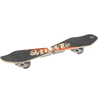 Streetsurfing - Wave Rider Abstract Waveboard Wooden Casterboard