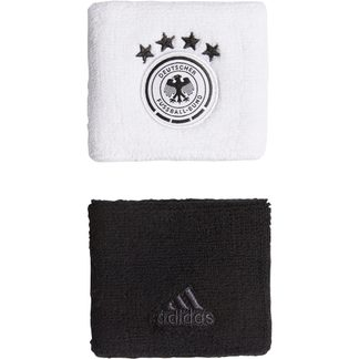 adidas - DFB Wristbands Unisex white black carbon