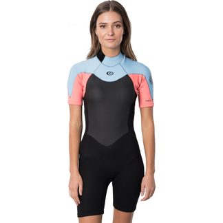 Rip Curl - Omega 1.5mm Short Sleeve Wetsuit Women pink