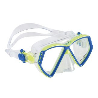 Aqua Lung Sport - Cub Kid Taucherbrille Kinder light blue bright green
