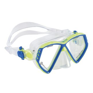 Aqua Lung Sport - Cub Junior Tauchbrille Kinder light blue bright green
