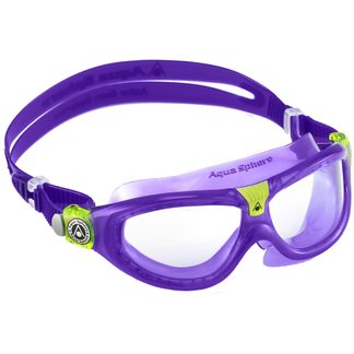 Aquasphere - Seal Kid 2 Clear Lens Swimming Goggles violet lime