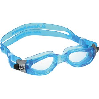 Aquasphere - Kaiman Small Clear Lens Swimming Goggles light blue