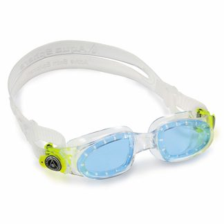 Aqua Sphere - Moby Kid Swimming Goggles Kids blue lens clear lime