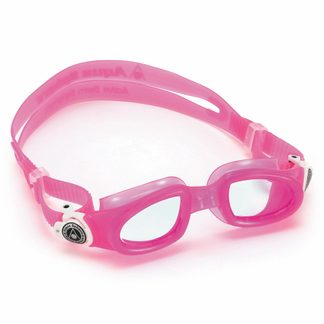 Aqua Sphere - Moby Kid Swimming Goggles Kids clear lens pink white