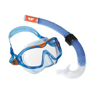 Aqua Lung Sport - Combo Mix Schnorchelset blau orange clear