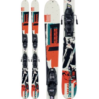 K2 - Juvy 20/21 (109-129cm) with bindings