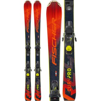 Fischer - RC4 The Curv Pro 20/21 140-160cm with bindings