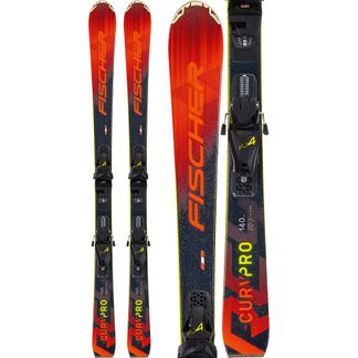 Fischer - RC4 The Curv Pro 20/21 110-130cm with bindings