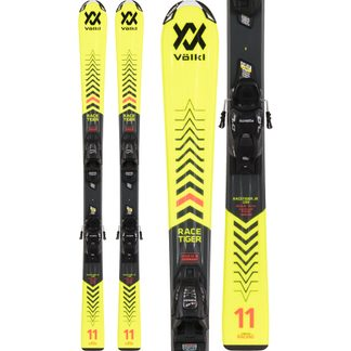 Völkl - Racetiger Junior Yellow 20/21 140-160cm with bindings