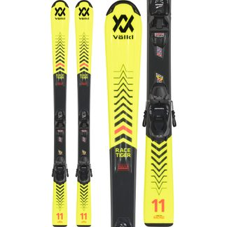 Völkl - Racetiger Junior Yellow 20/21 70-130cm with bindings