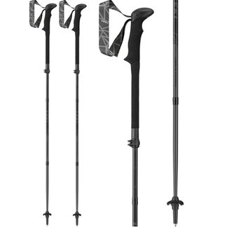 LEKI - Black Series Hiking Pole black white