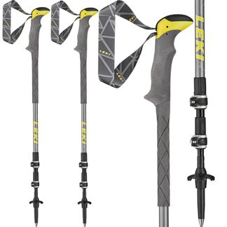 LEKI - Sherpa Lite XTG Hiking Pole yellow white