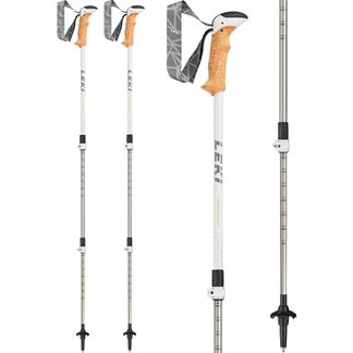 LEKI - Cressida Hiking Pole Women silber lime anthrazit