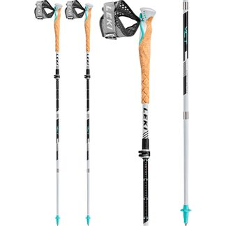 LEKI - MCT 12 Vario Carbon white black mint