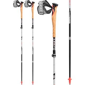 LEKI - MCT 12 Vario Carbon  black white red