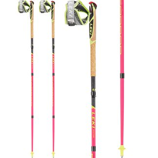 LEKI - Micro Trail Pro neon pink neon yellow black
