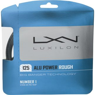 Wilson - Luxilon Alu Power 125 Rough Tennis String silver