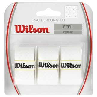 Wilson - Pro Perforated Overgrips 3er white