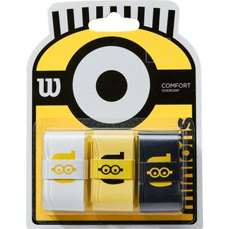 Wilson - Minions Overgrip Set of 3 white yellow black