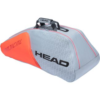 Head - Radical 9R Supercombi Tennistasche grau orange
