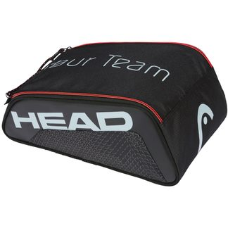 Head - Tour Team Shoe Bag schwarz grau