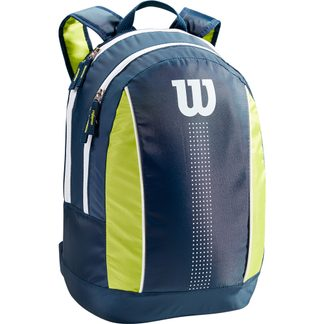 Wilson - Junior Tennisrucksack Kinder navy lime green white