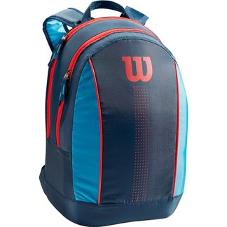 Wilson - Junior Tennisrucksack Kinder navy blue infrared