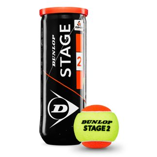 Dunlop - Stage 2 Tennis Balls Set of 3 orange