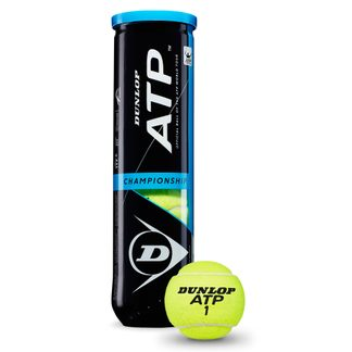 Dunlop - ATP Championship Tennis Balls Set of 4 yellow
