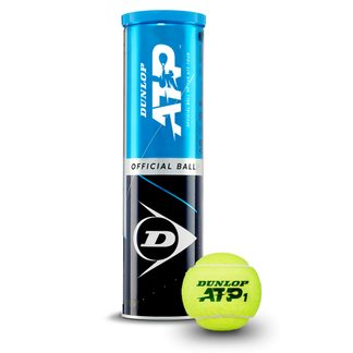 Dunlop - ATP Official BMW-Open Tennis Balls Set of 4 yellow